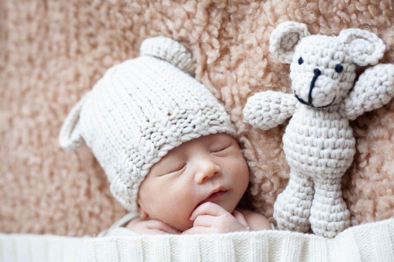 新生児でもニット帽は使える?