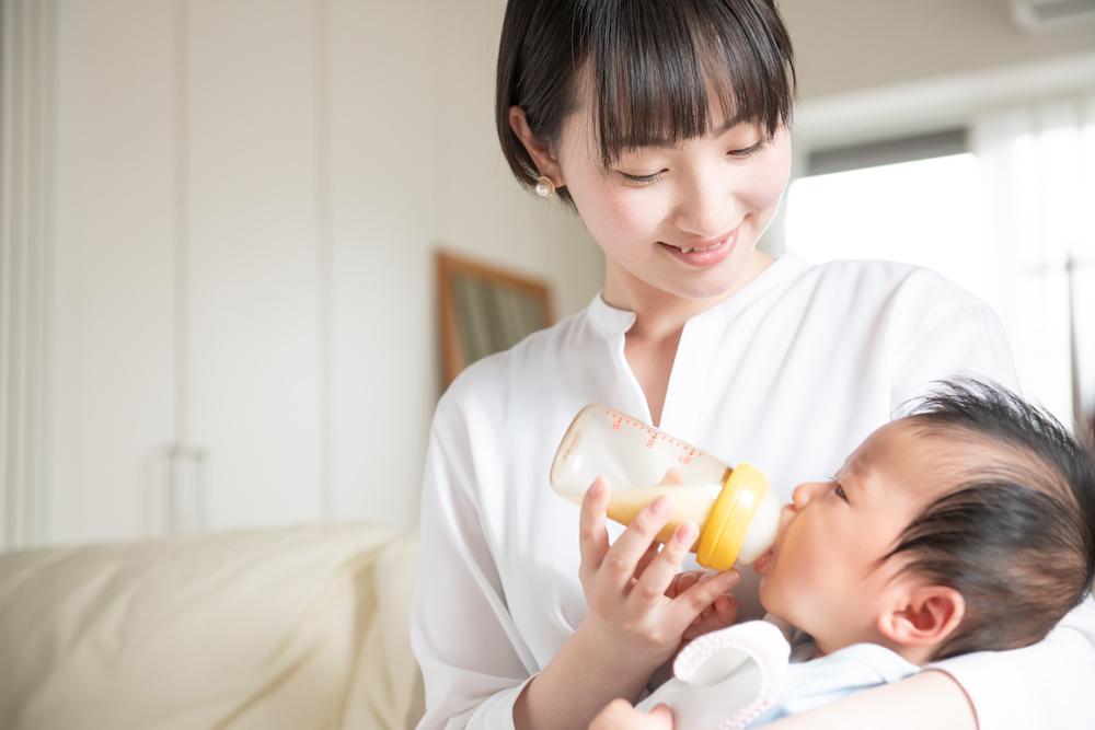 赤ちゃんのお腹におすすめのミルク