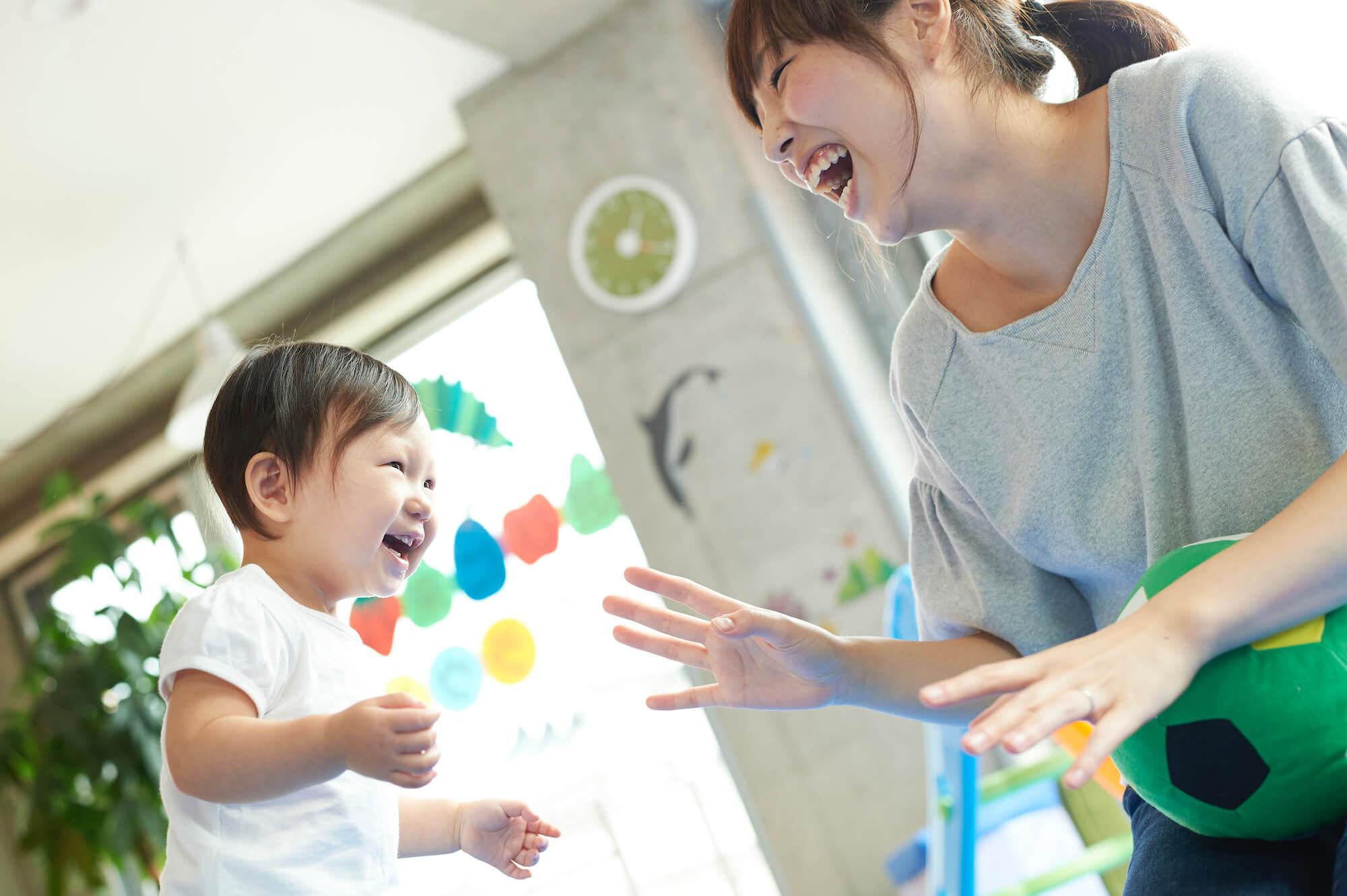 赤ちゃんと幼児用の遊び場注意点は