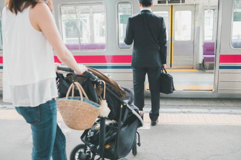 ベビーカーで電車に乗る際の注意点