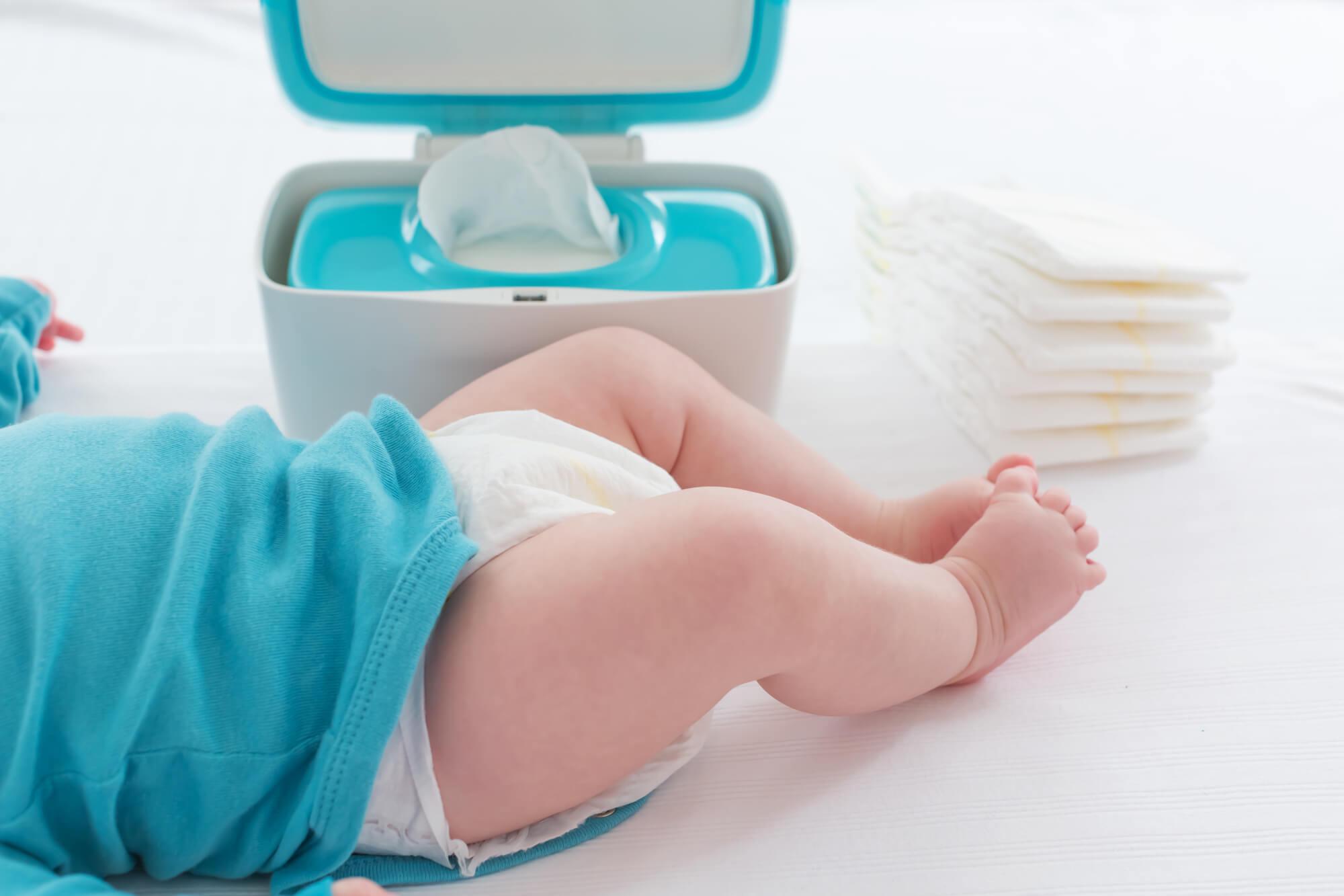 赤ちゃんのおむつのサイズと選び方