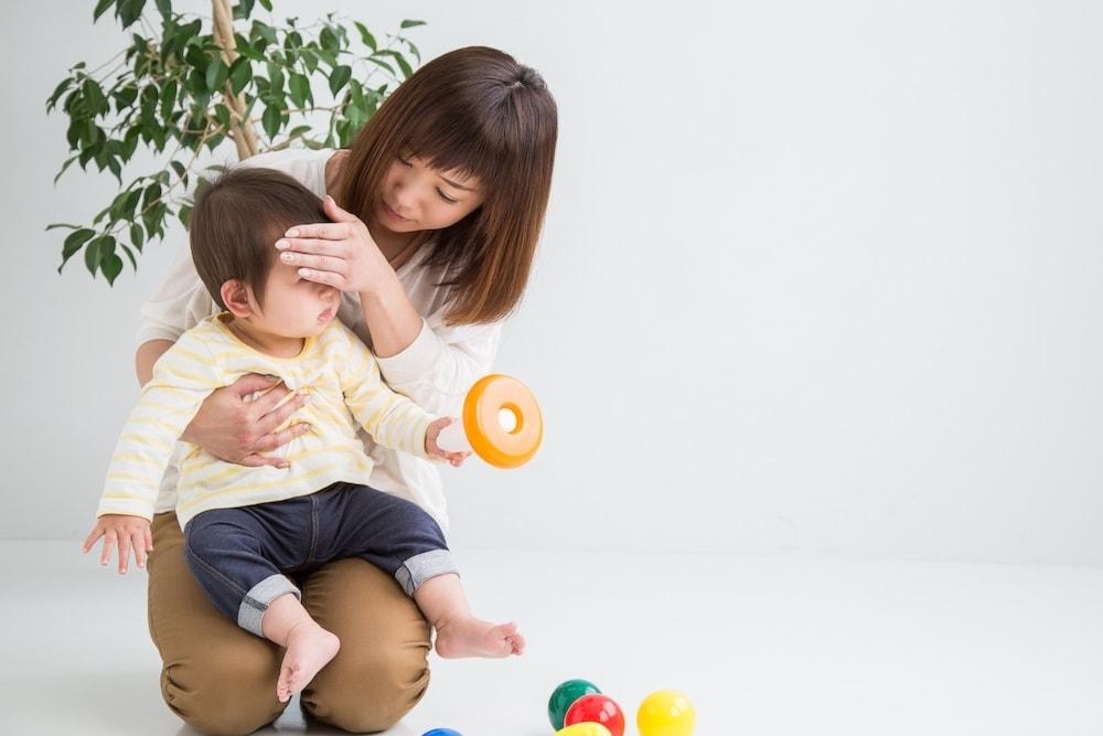 赤ちゃんの発熱時の服装