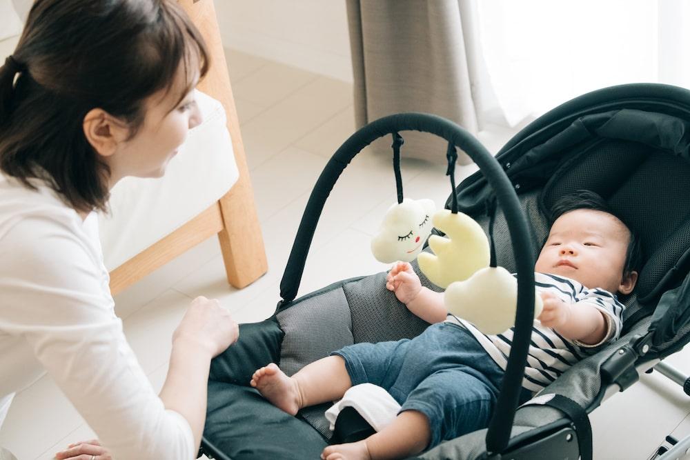 赤ちゃんのバウンサーってどんなもの?