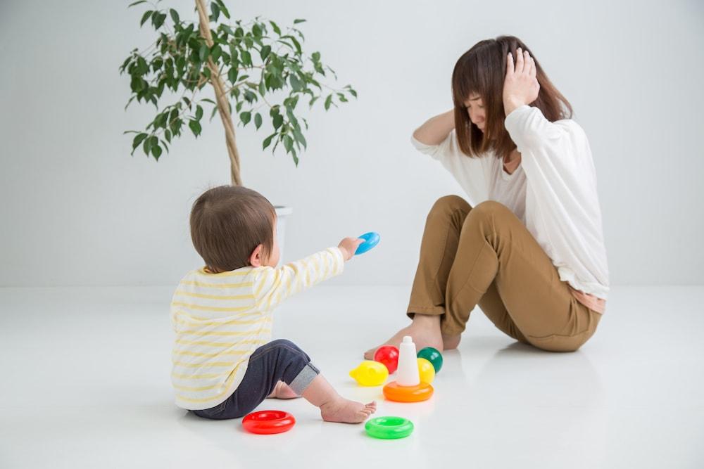 育児のイライラ赤ちゃんに伝わる?