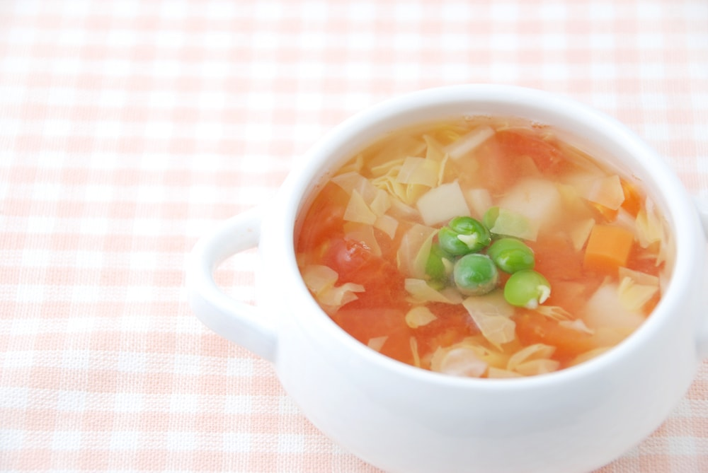 【離乳食後期】だしで作るスープレシピ