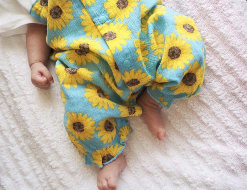 【夏生まれの赤ちゃん】1年間の服の着せ方