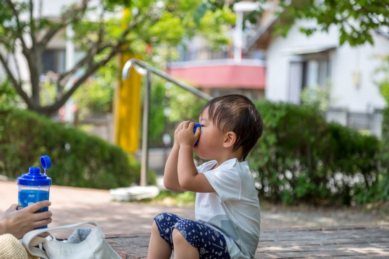 赤ちゃんと暑い夏の過ごし方