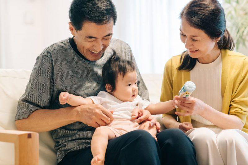 祖父母世代との育児観の違い