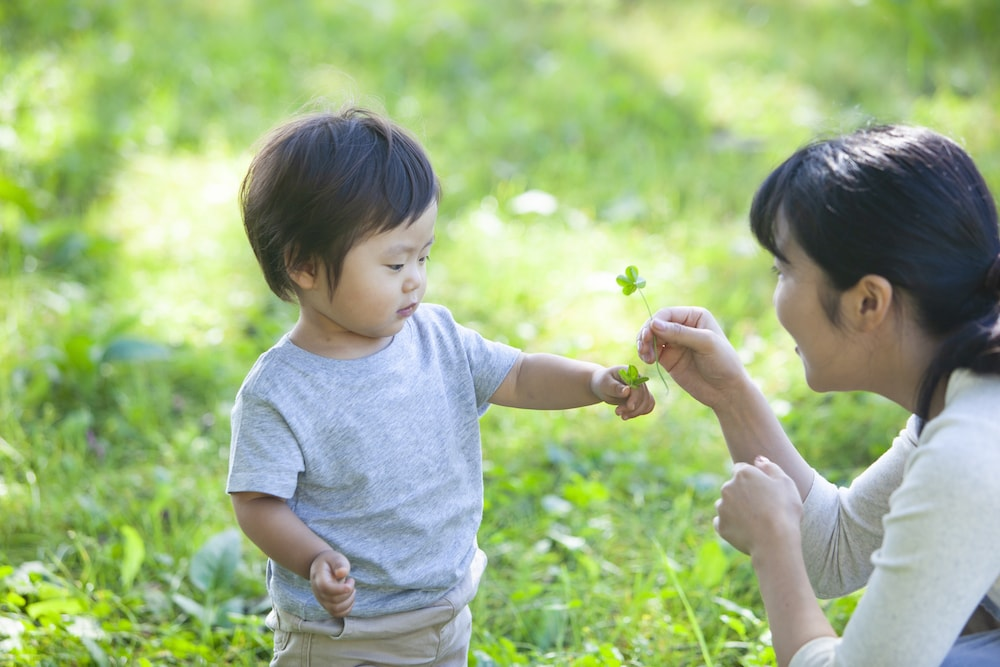 外遊びは赤ちゃんにどんな効果がある?