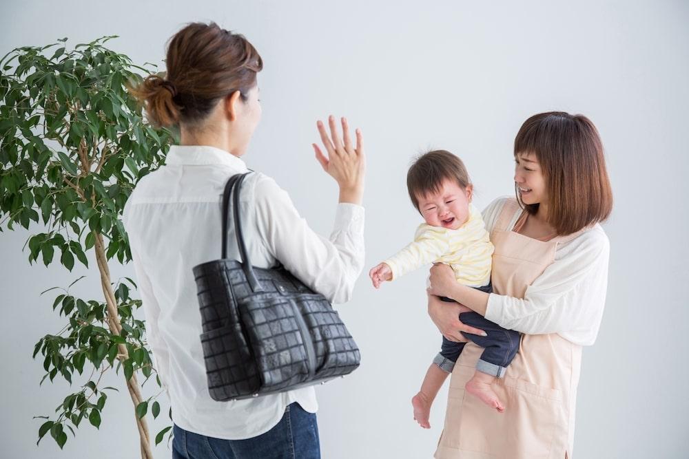 乳幼児の保育園は慣らし保育から