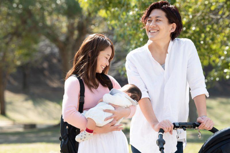 赤ちゃんとのお散歩の5つのメリット