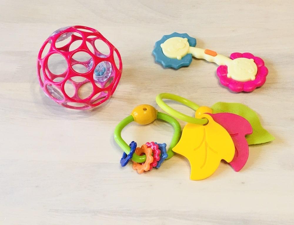 乳児にとってのおもちゃの必要性