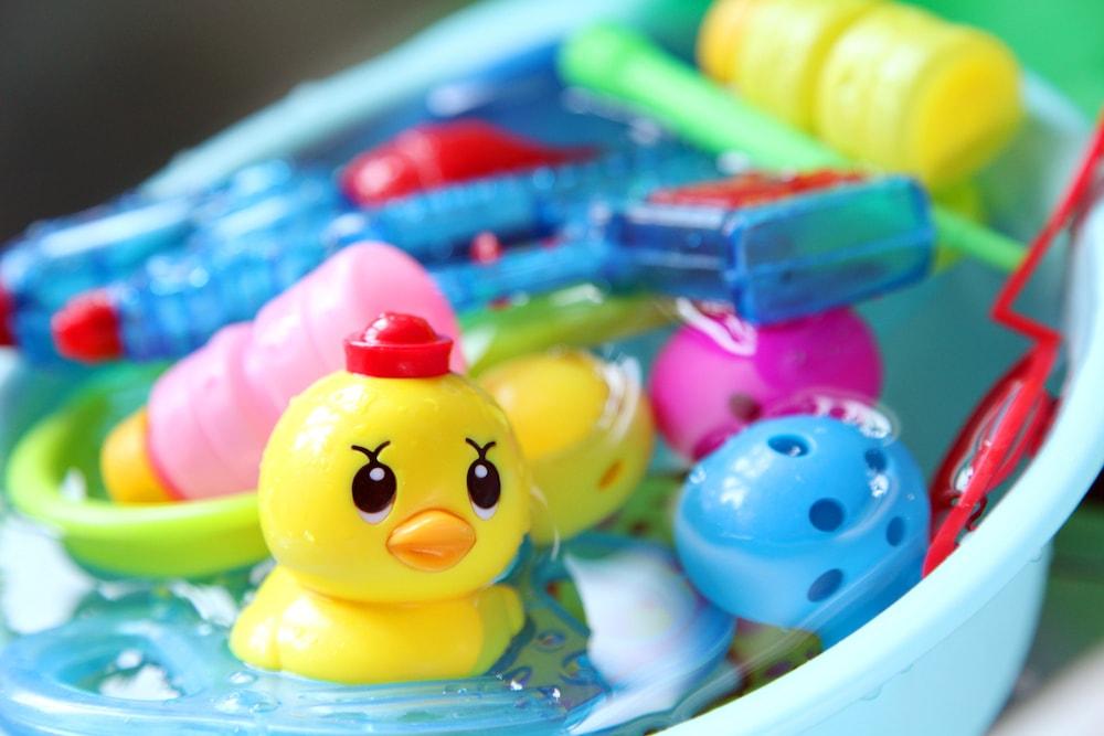 お風呂のおもちゃの簡単お手入れ術
