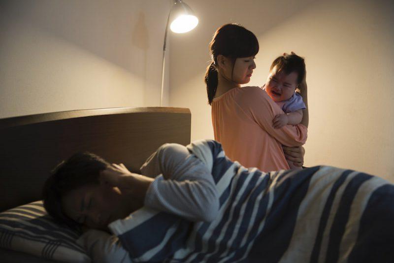 夜泣きのイライラに効く3つの対処法