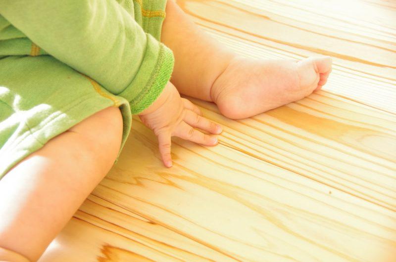赤ちゃんも安心な自然素材の家って?