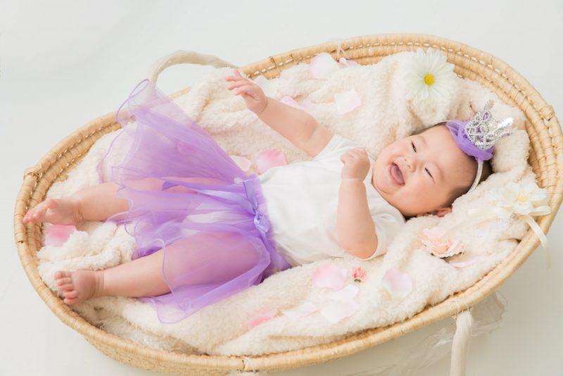 【冬生まれの赤ちゃん】1年間の服の着せ方