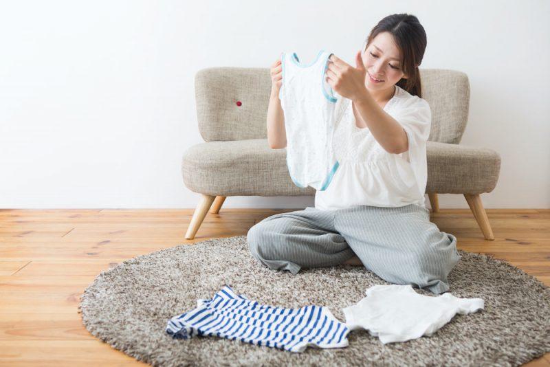 サイズアウトした赤ちゃんの服の活用法