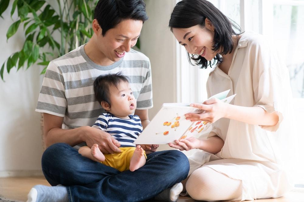 赤ちゃんの月齢に合った絵本の選び方