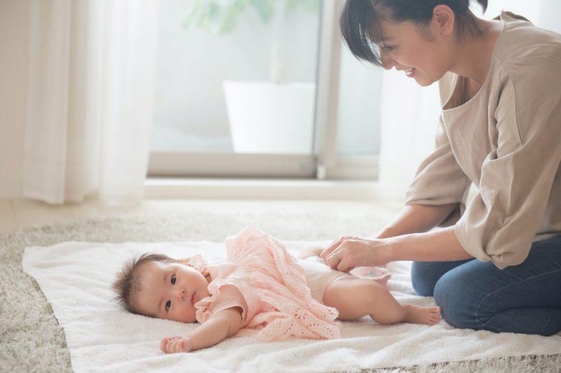 赤ちゃんのおむつ替えに便利なアイテム
