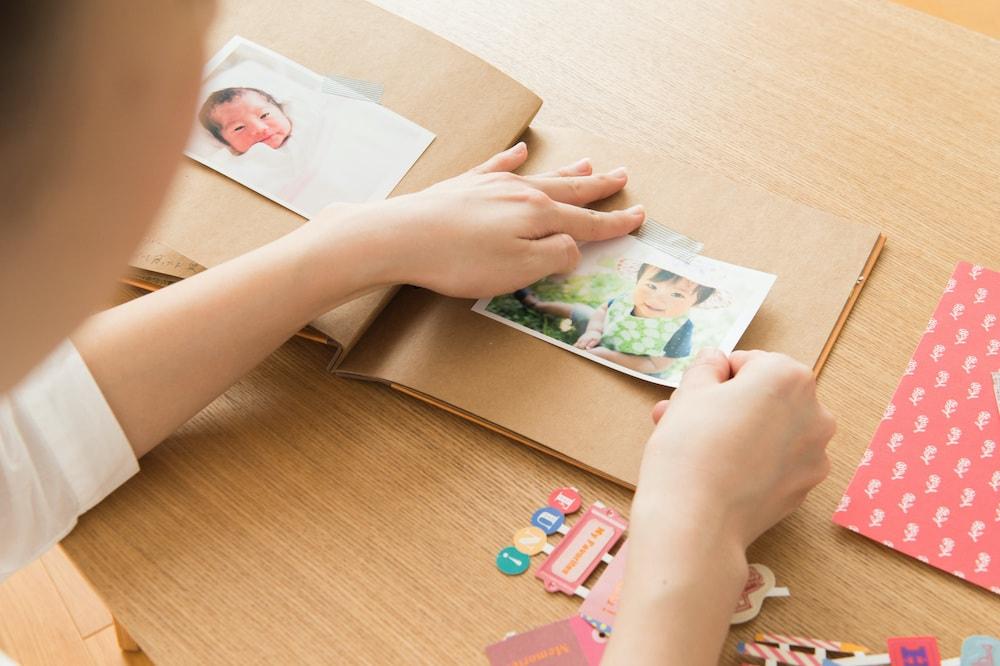 赤ちゃんの写真の整理アイデア