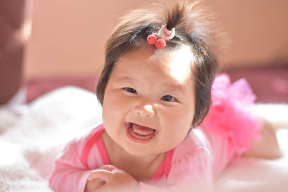 女の子の赤ちゃんの可愛い髪型5選