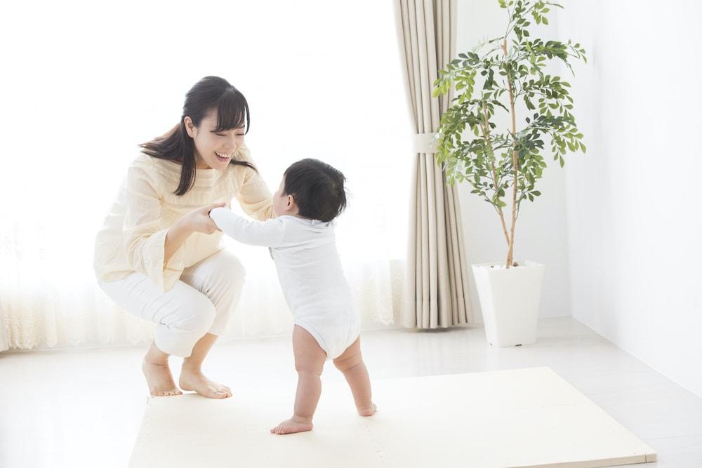 赤ちゃんが快適に過ごせるリビングづくり