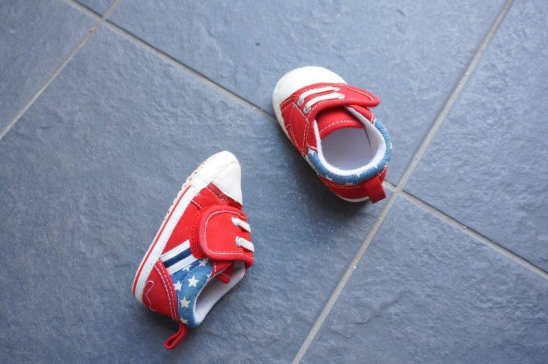 赤ちゃん靴の収納に5つのアイデア